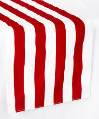 red and white table runner another great find on zulily red white stripe table runner