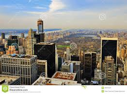 manhattan skyline uptown manhattan skyline royalty free stock images image 32014259