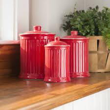 kitchen canister set barrel studio newmont 3 kitchen canister set ebay