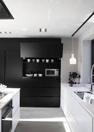 cuisine blanche et noir cuisine noir et blanche free cuisine with modele cuisine