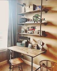 Galvanized Pipe Shelving by Diy Industrial Pipe Shelves And Desk Industrial Shelves