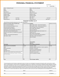 year end financial statement template sample templatex1234