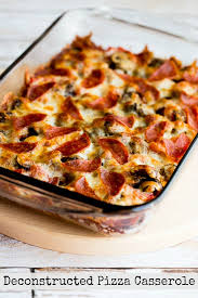 Low Carb Comfort Food Low Carb Deconstructed Pizza Casserole Kalyn U0027s Kitchen