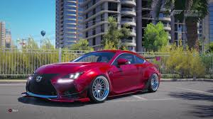 lexus rc rocket bunny kit forza horizon 3 2015 lexus rc f rocket bunny youtube