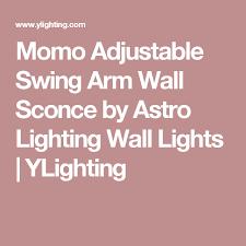 Ylighting Wall Sconce Momo Adjustable Swing Arm Wall Sconce Swing Arm Wall Sconce