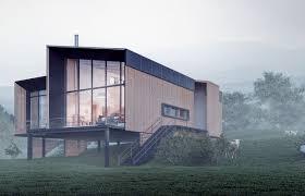 modern trends open floor plans in mountain home design tab