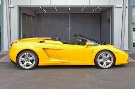 Lamborghini Gallardo Convertible - lamborghini gallardo spyder supercar hire sports car hire