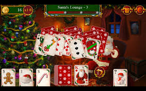 santa u0027s christmas solitaire tripeaks android apps on google play