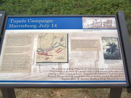 Depaul Map Battle Of Tupelo Mississippi Site Photos