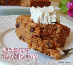 stuffed at the gill u0027s applesauce snacking cake
