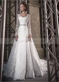 ivory lace wedding dress a line scoop neckline corset back sleeves court ivory