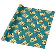 cat wrapping paper zazzle