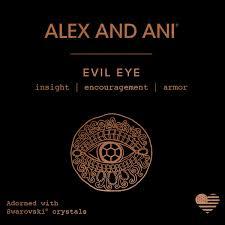 evil eye charm bangle alex and ani