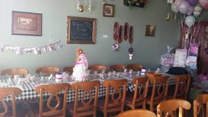 Dining Room Setting Dining Room Set Up For Baby Shower Picture Of Dell U0027amore