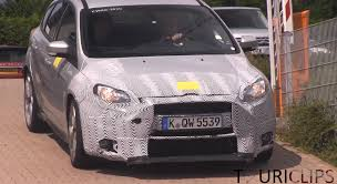 ford focus png 2016 ford focus rs with 2 3l turbo captured on video autoevolution