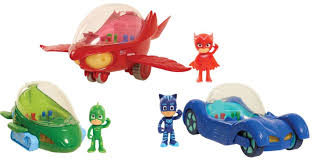 roll action pj masks deluxe vehicles toy insider
