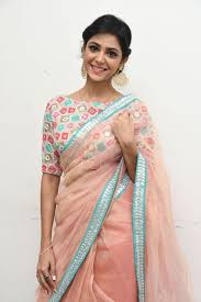 saree blouses beautiful saree with colourful blouse with half sleeve