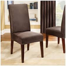 dining room chair slip cover sure fit stretch leather shorty dining room chair slipcover