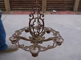 1930s Chandelier by Chandeliers Architectural Antiques Antiques