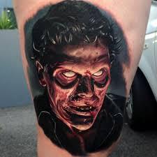 tattoo ideas zombie empty eyes zombie realistic tattoo best tattoo ideas gallery