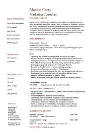 Samples Of References For Resume by Marketing Consultant Resume Example Sample References Job