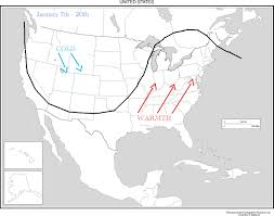 Map Of The 50 States Mjo Northeasternnjwx