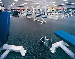 weight room flooring rubber rolls modular tiles u0026 health club