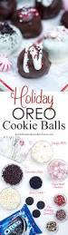 holiday oreo cookie balls valerie u0027s kitchen