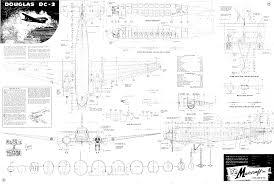 maircraft dc 3 miniature airplane kit design stuff pinterest