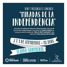 de teatro miradas de independencia