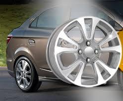 Preferidos Roda Onix | Prisma Krmai R42 aro 15 - 4x100 - ET 45 - SD Silver  &SX31