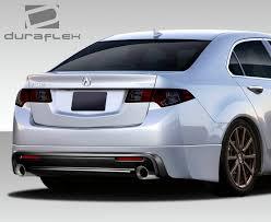 lexus is250 body kit singapore 09 14 acura tsx type m duraflex rear bumper lip body kit 108765
