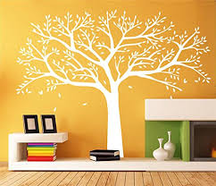 White Tree Wall Decal For Nursery Designyours Large Family Tree Wall Decals White Tree Wall Decal