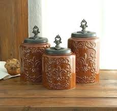 sunflower canisters for kitchen sunflower canisters for kitchen rustic kitchen canister set photo