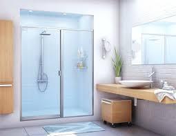 Shower Door Cleaner Half Glass Shower Door For Bathtub Alg Bathroom Shower Glass Door