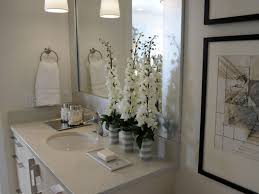 hgtv bathroom decorating ideas neutral guest bathroom bathroom