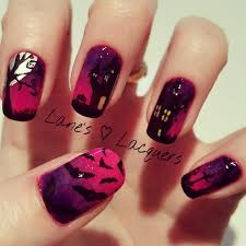 lane u0027s lacquers 40 great nail art ideas halloween