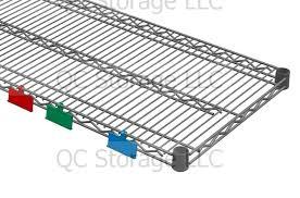 3 Shelf Wire Rack Wire Shelf Accessories Qc Storage