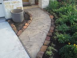 2017 Stamped Concrete Patio Cost Modern Decoration Concrete Walkway Cost Winning Stamped Concrete