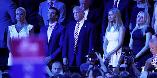 The Trump Family by Donald Trump U0027s Family Listening To Ted Cruz U0027s Rnc Speech Gets The