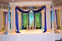 Peacock Themed Wedding Peacock Themed Wedding With This Mandap Mandap Ideas