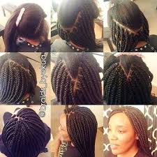 how to braid extensions into your own hair learn how to box braid quick how to tutorial