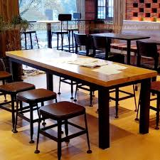 wood and iron dining room table vintage iron wood tables solid wood dining tables and chairs