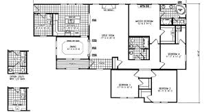 three section home plans triple wide plans
