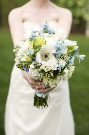 blue wedding bouquets light blue wedding bouquet ipunya