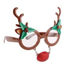 christmas glasses reindeer christmas glasses
