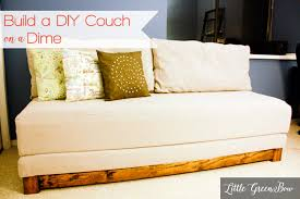 Make A Bed Learn How To Make A Diy Couch That Makes Out To A Bed For Guests