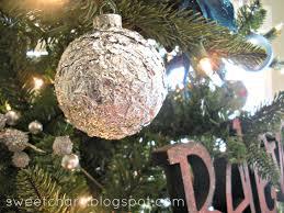 diy glass ornament tinfoil sweet charli