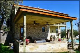 Patio Metal Roof by Before And After Patio Cover Metal Roofing Pictures Poncha Pass