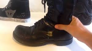 footwear for motorcycle motorcycle boots vs shoes youtube